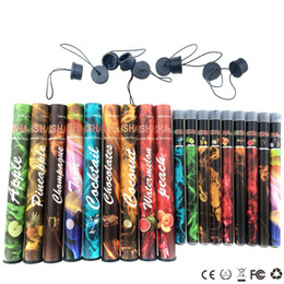 Wholesale Disposable Cigs - ShiSha Disposable Electronic cigarettes Shisha E cigs 500 puffs 27 type Various Fruit Flavors Hookah pen 280mAh battery