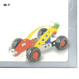 Wholesale Puzzle Pc Game - 54 pcs F1 Car Magical Models DIY Alloy Metal Puzzle Mind Game Kid's Gifts Educational Toys DIY