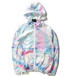 Куртки для девочек онлайн-Импортированные-одежда Мужская куртка ST World Tour краска красочные всплеск чернил куртка для девочек солнцезащитный крем цвет градиента куртка 101725