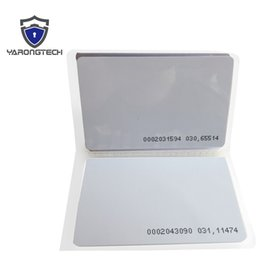 Wholesale Door Access - RFID Card 125KHz PVC Proximity Door Control Entry Access EM -0.9mm-100pcs