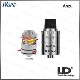 Sabor atomizador online-100% Original UD Youde Anzu RDA tanque Anzu atomizador con Velocity-Style postes ajustable Dual Airflow diseño Crisp Massive Flav Availabl