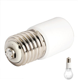 Canada Brand New 1 pcs E40 Vis Ampoule Socket Base Extender LED Halogène CFL Ampoule Lampe Adaptateur Convertisseur Titulaire supplier screw led adapter Offre