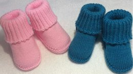 Wholesale Wholesale Exclusive Shoes - Newborn Baby Infant Girls exclusive Handmade Toddler Knit Walking Shoes for Baby First Walkers 0-12 Months