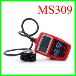Wholesale Diagnosis Tools - MaxiScan MS309 Autel OBD 2 Code Scanner OBD II EOBD Scan Tool Car Code Reader Fault Diagnosis Instrument For Vehicle Spectrum Analyzers