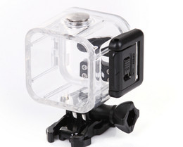 Wholesale Underwater Camera Accessories - Action Camera Camcorder Accessories Special Purpose for Gopro4 Session Waterproof Case 45m Underwater Sport Camera Housing Box For Sports