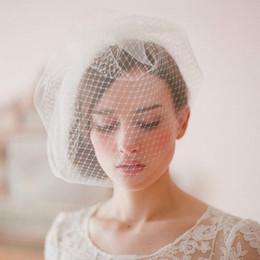 Wholesale Vintage Lace Headdress - CHENLVXIE Hot Sale 2016 Vintage Wedding Hat Fascinator headdress with Cambric Bridal Hats Berets Wedding Headpiece Headwear