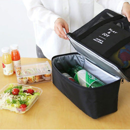 Wholesale Picnic Basket Food - Personalized Double layer Insulated Picnic Bag Thermal Food Container Picnic Basket Bag Designer Picnic bag bolsas de comida