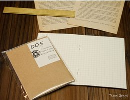 Wholesale notebook grid - Wholesale- travelers' notebook filler papers core passport type size 005 grid midori