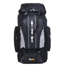 Wholesale College Backpacks Men - Big Load Knapsack 100L Outdoors Sports Bags Waterproof Nylon Backpack Women Men Hiking Camping Climbing Fishing Rucksack XA769A