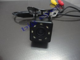 Wholesale Ccd Types - led night vision Universal Type 170 degrees CCD Reverse Rearview back-up Camera 8 LED Night Vision +Free Shipping