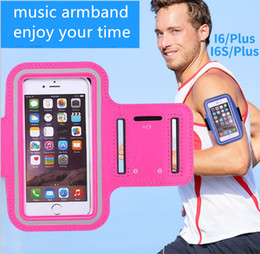 Wholesale Ems Free Delivery - DHL EMS free mobile accessories iphone edge touch armband Outdoor sport Marathon exercise handsfree reflective pouch 1pc delivery GSZ068