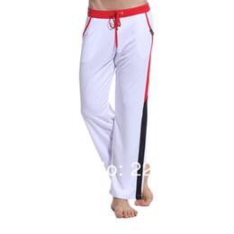 Wholesale Men S Ties Elastic - Wholesale-2016 New Fashion Men Polyester Casual Pants Male Soft Long Pants Rope Tie Trousers Size S M L XL 8 Colors Summer