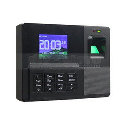 Wholesale Biometric Time Attendance - 2.8inch HD Color Biometric Fingerprint Time Attendance Digital Electronic Reader Machine Clock Employee Payroll Realand
