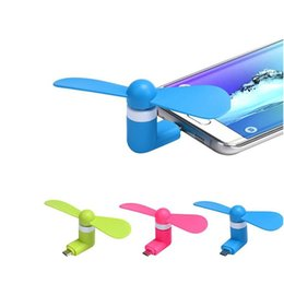 Wholesale Port Electric - Portable USB 3.1 Micro V8 Port Mini Electric Fan Cooling TPE For Android Smart Phones