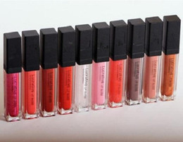 Wholesale Mineral Lip Color - Lip Gloss 7ml Lucrative Lip Gloss Minerals Moisturizer Lip Gloss 10colors free shipping