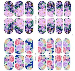 Wholesale Glow Nail Wraps - Christmas nail wraps 3D flowers and elks glow in the dark self adhesive decals nail stickers nail art nail decorations 12 patterns