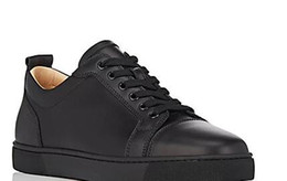 Wholesale Bottom Boat - drop shipping 2017 Fashion casual spikes flat luxury pik boat roller boat men designer suede shoes low top leather red bottoms sneakers mens
