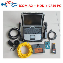 Wholesale Bmw Ista Software - 2018 For BMW ICOM A2+B+C with software hdd V2017.12(ista-d 4.08 ista-p 3.63) + For Panasonic toughbook CF19 Laptop