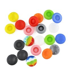 Wholesale Ps2 Case - New Fashion Rubber Silicone Thumb Grips Cap Thumbstick Stick cover case Joystick For PS2 PS3 PS4 Xbox Controller