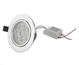 Wholesale Yellow Umbrella Sale - Hot Sale non Dimmable LED ceiling down light 7x3W 21W Ligh Warm White ,Cool White Led Ceil Light