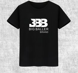 Wholesale Ball Clothes - Classic T Shirt Lonzo Ball Designer Short Sleeve Gown Basketball BBB Sport Tees Leisure Unisex Clothing Quality Cotton Tshirt