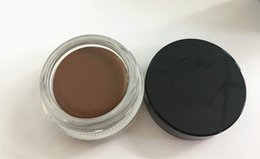 Wholesale Wholesale Hot Chocolate Mix - HOT Pomade Medium Brown Waterproof Makeup Eyebrow 4g Blonde Chocolate Dark Brown Ebony Auburn Medium Brown Taupe
