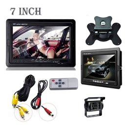 """Wholesale Night View System - Wired IR Rear View Back up car Camera Night Vision System+7"""" Monitor for RV Truck"""