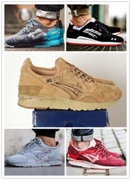 Wholesale athletic rubber bands - Whosale 2017 GEL Lyte III Men Women casual Shoes Top Quality lique Lightweight 3 For Sale Online Fashion Sneakers athletic Shoes Eur 36-45