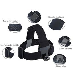 Wholesale Wholesale Camera Straps - For Action camera Accessories Head Strap Chest Harness Mount For SJ4000 xiaomi yi 4K SJCAM EKEN H9 H9R