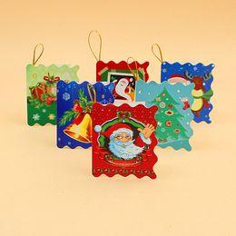 2019 piacevoli compleanni Christmas Card Printed Xmas Ornaments Wishing Card 6X5.5Cm Sweet Wish Lovely For Birthday Regalo per bambini sconti piacevoli compleanni