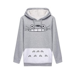 Wholesale Evening Women S Suit - Best Sellers Woman Totoro Cartoon Printing Long Sleeve Even Midnight Set Hoddies Women Shirts Man Sweatshirt Clothes 3d Tshirt Sport Suit