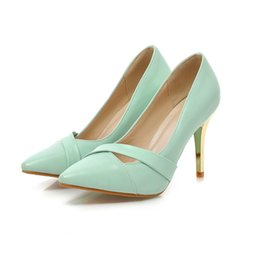 Wholesale Wholesale Gladiator Heels - A Shallow Mouth of Spring and Summer Fashion Elegant Temperament Commuter Stiletto Sets Foot Shallow Mouth Women Shoe