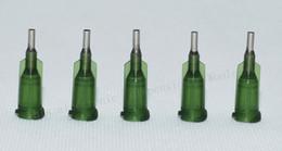 Atacado 14G W / ISO padrão Dispensing agulhas PP luer lock hub 0.25 polegadas de comprimento tubo de precisão S. S. dispensar dicas cegas de Fornecedores de polimento de carro móvel