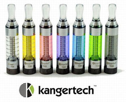 Wholesale E Cigarette Bottom Coil - Kanger T3S Clearomizer Upgrade of T3 Atomizer 3.0ml Replaceable Coil Kanger T3s Bottom Coil Clearomizer E Cigarette Vaporizer for ego evod