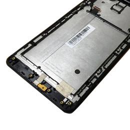 asus frame Sconti Nuova sostituzione con cornice LCD + gruppo touch screen per ASUS Zenfone 6 Black