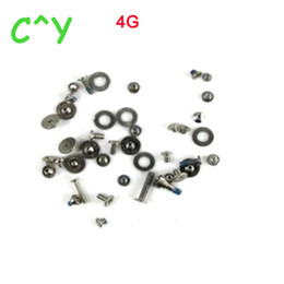 Wholesale Iphone 4s Complete - For iPhone 5S 5G 5C 4G 4s 6G 6s 6 Plus 6s Plus 7G 7 Plus complete screw set Full Set Screws Kit