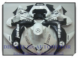 Wholesale Fairings For Yamaha - Injection brand new fairing kit 100% fit for YAMAHA YZFR6 YZF600 2003-2005 2004 YZF R6 03 04 05 YZF R6 2003-2005 2004 #7WY35 WHITE BLACK