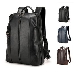 Wholesale S Backpack - 2016 Top Grade Backpack Bag for Men and Women College Unisex stu*s*sy plain Print Shoulder Bag PU Leather Out097