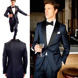 2019 un vestito laterale argento Il più nuovo One Button Bridgroom Tuxedos Side Vent Mens Slim Fit adatta tre pezzi Suit per Blazer uomini un vestito laterale argento economici