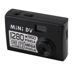 Wholesale Mini Dv Camera 5mp - 5MP HD 1280*960 Smallest Mini DV Digital Camera Video Recorder Camcorder Webcam DVR Real-time Video Recording