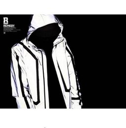 Wholesale mens fashion winter coats - high quality Casual Mens Jackets Hip-hop Winter Waterproof 3m Reflective Jacket Men Clothes Outdoor Baseball Coat Windbreaker