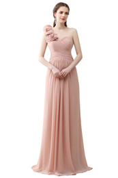 Wholesale One Shoulder Beach Prom Dress - 2016 Sexy New Halter Lace Chiffon Long Prom Dresses Illusion Beaded Crystals Applique Split Backless Floor Length Summer Beach Evening Gowns