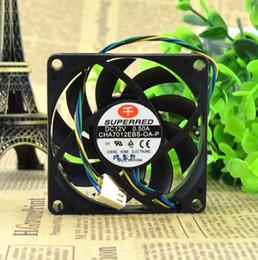 2020 fans superred SUPERRED Cha7012ebs-oa-p 7CM 70 * 70 * 15 12V 0.50A Ventilateur de refroidissement à 4 fils promotion fans superred