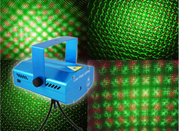 Wholesale Christmas Lights Wholesale Uk - Christmas mini Green&Red Laser DJ Party Stage Light 150mW Disco Dance Floor Lights Mini Laser Stage Lighting
