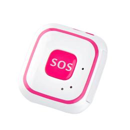 Wholesale Tracking Sos - V28 5PCS GPS Tracker WiFi GPS SOS Alarm Locator 2-Way Audio Geo-Fence Falling Alarm GPS Tracking Pendant for Kids Elderly AT