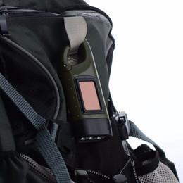 2019 torche électrique Portable LED manivelle Dynamo énergie solaire lampe de poche torche camping en plein air alpinisme nuit Linternas torche électrique pas cher