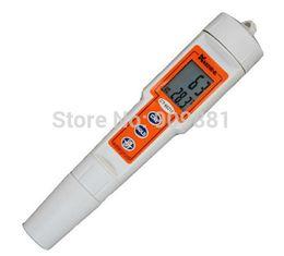 Wholesale Aquarium Types - 0 To 14.00 pH Portable Waterproof PH Meter Pen Type Digital PH Tester With Backlit Aquarium Pool Drink Water Tester