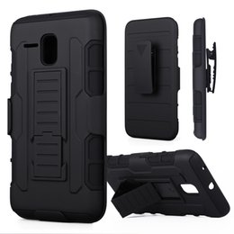 Wholesale Cover For Alcatel - For ALCATEL OT5025 POP3 Pop 3 Shockproof Future Armor Cases Impact Hybrid Hard Case Cover + Belt Clip Holster Kickstand Combo PC Silicone