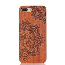Wholesale Design Protective Back Case Iphone - 2016 hot sell new arrival mobile phone case For iPhone 7 6 6S Plus Wooden Bamboo Case Custom Design Wood Protective Back Cover