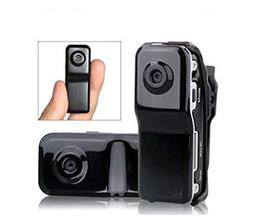 Wholesale Mini Digital Camera Web Cam - Mini DV DVR Camcorder Sports Video Recorder Digital Spy Hidden Camera Web Cam MD80 720x480 Helmet Camera